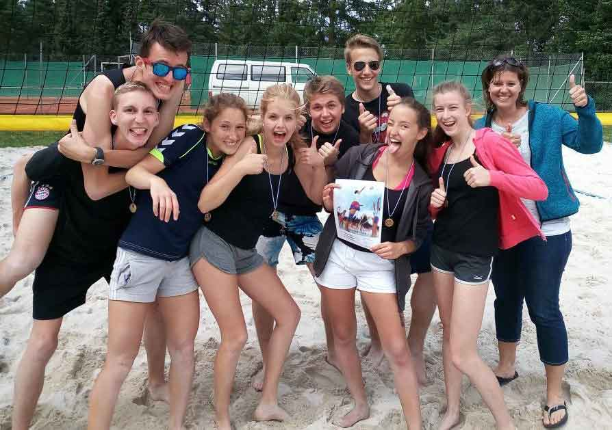 Siegerbild_Beachvolleyball